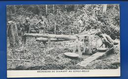 Recherche De Diamant Au CONGO-BELGE    Animées - Belgian Congo - Other