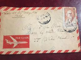 Viet Nam vietnam Envelopecover(30xu 120th Birth Anniv Of Rabindranath Tagore)SENTto-HCM-1987-1psc 04 Photo - Vietnam
