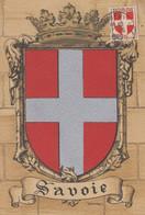 Carte  Maximum   FRANCE    Armoiries  De   La  SAVOIE    CHAMBERY   1949 - 1950-59
