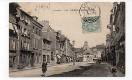 14 - LISIEUX - Place Gambetta - Animée - 1907  (Z24) - Lisieux