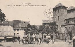 (conf) CANTAL , MAURIAC , Place De L' Hotel De Ville - Mauriac