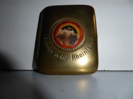 Koperen Cigarettenhouder - Etui à Cigarettes En Cuivre 1919 - 1914-18