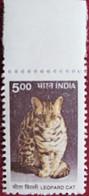 India  2000   Leopard  Cat  1 V   MNH - Felinos