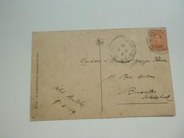 Stempel ( 723 )  Afstempeling Op Kaart  Rumbeke  -    Noodstempel  1919   ROESELARE - Foruna (1919)