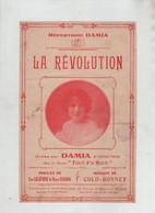 Répertoire Damia Tampon Orgeret Lyon Lelièvre Varna Colo Bonnet Dufrenne Paris - Publicités
