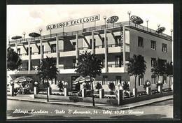 Cartolina Riccione, Albergo Excelsior, Viale D'Annunzio, 54 - Other Cities