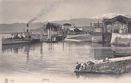 INTRA-VERBANO CUSIO OSSOLA-LAVANDAIA E VAPORETTO-BELLA  CARTOLINA NON VIAGGIATA-1900-1904 - Verbania