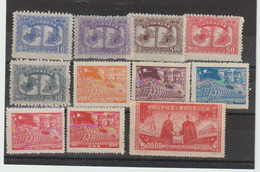 TIMBRES De CHINE DIVERS - ANNEE 1950 ..    NEUFS** - Nuevos