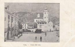 SUSA-TORINO-PIAZZA DEL SOLE-CARTOLINA NON VIAGGIATA-ANNO 1900-1904 - Other