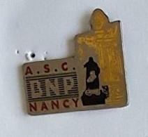 Pin's  Ville, Sports, Banque  A.S.C.  B N P  NANCY  ( 54 ) - Banks