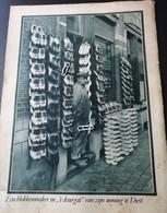 """DIEST..1934.. EEN BLOKKENMAKER IN """"'HET DEURGAT """" VAN ZIJN WONING - Sin Clasificación"""