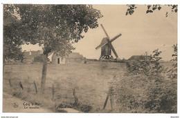 De HAAN / Coq Sur Mer - Le Moulin - Circulé: 1924 - 2 Scans - De Haan