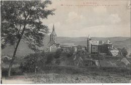 FIRMI Près DECAZEVILLE - L'Eglise Et Le Château - Firmi