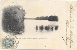 AUTUN : PARC DE MONTJEU GRAND ETANG - Autun