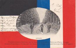 1904  Donon  -  La Frontière  - Route  De Schirmeck à Raon Sur Plaine ( Vers Ars Sur Moselle ) - Saint Die