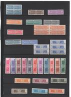 ITALIE -COLIS POSTAUX - Lot De 36 Timbres  Doubles  - N++   )  Voir Scans - Postal Parcels