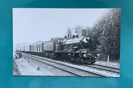 Locomotive Nord 2 661 - Photo Chantilly - Années 1930 - France Oise 60 Train Compagnie Wagons Lits CIWL Avant SNCF - Trains