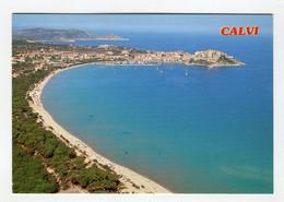 C.P °_ 20B-Calvi-Sa Pinède Et Sa Plage Ensoleillée-1980 - Calvi