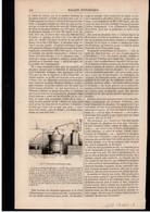 CHIMIE  -- Article Coupure De Presse -- 1 Page(s) -- Année 1848 - Phosphore Rouge Ou Amorphe Nouvelles Allumettes(suite) - Ohne Zuordnung