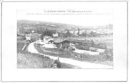 La Roche Vineuse Gare Reproduction Canton Mâcon - Sonstige Gemeinden