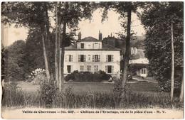 CPA 91 - GIF SUR YVETTE (Essonne) - 522. Château De L'Ermitage, Vu De La Pièce D'eau - M.V. - Gif Sur Yvette