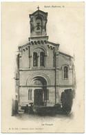 St-AMBROIX (30) – Le Temple. Editeur J. Gascuel, Bessèges, N° 75. - Saint-Ambroix