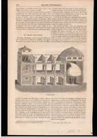 TECHNIQUE  -- Article Coupure De Presse -- 1 Page(s) -- Année 1848 - Le Cornet Acoustique - Zonder Classificatie