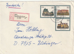DDR / 1986 / Sonderganzsachenumschlag Mi. U 1 Per Einschreiben Ex Bad Blankenburg (C956) - Sobres - Usados