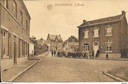 Flawinne - L'École - Commerce Café - Animé - Etat: Voir 2 Scans - Namur