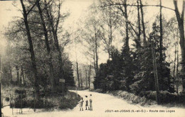 JOUY En JOSAS  Route Des Loges  Recto Verso - Jouy En Josas