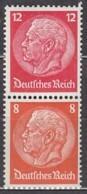 DR S 199, Postfrisch **, Hindenburg 1939 - Zusammendrucke