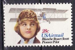 United States, 1980 - 28c Blanche Stuart Scott - Nr.C99 MNH** - Unused Stamps