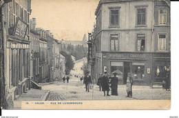 Arlon - N° 19 - Rue Du Luxembourg - Coiffeur Moriame - Ph: H. Bertels - Etat: Coin Sup Droit Réparé - Voir 2 Scans. - Arlon