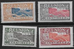 ⭐ Réunion - YT N° 88 / 90 / 91 / 92 ** - Neuf Sans Charnière - 1922 / 1926 ⭐ - Unused Stamps