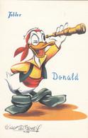 CPA ( WALT DISNEY)PUB TOBLER Donald (b.bur Theme) Parfait Etat - Other