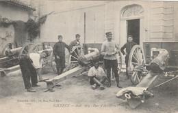 33-TALENCE--AOUT 1914-PARC D'ARTILLERIE--VOIR SCANNER - Andere Gemeenten
