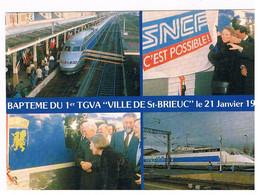CPSM TGV St Brieuc 21 01 1989 - Saint-Brieuc