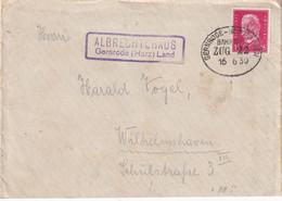 ALLEMAGNE 1930 LETTRE DE ALBRECHTSHAUSEN ZUGSTEMPEL - Brieven En Documenten