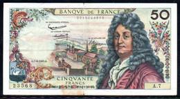 554-France Billet De 50 Francs 1962 G A7, Déchirure En Bas - 50 F 1962-1976 ''Racine''