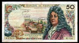 554-France Billet De 50 Francs 1967 F K114 - 50 F 1962-1976 ''Racine''