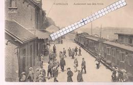 """CAPPELLEN-KAPELLEN """"AANKOMST VAN DE STOOMTREIN"""" UITG.L.COLLIN - Kapellen"""