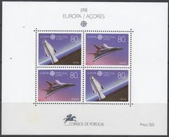 AZOREN  Block 12, Postfrisch **, Europa CEPT: Europäische Weltraumfahrt 1991 - Azores
