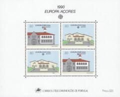 PORTUGAL AZOREN Block 11, Postfrisch **, Europa: Postalische Einrichtungen, 1990 - Azores
