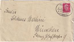 ALLEMAGNE 1931 LETTRE ZUGSTEMPEL FRIEDRICHSHAFEN-ULM - Brieven En Documenten