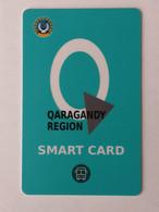 2020..KAZAKHSTAN..QARAGANDY REGION..SMART CARD FOR PUBLIC TRANSPORT - Other