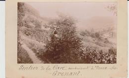 VAUX Les Grenant (21) - Carte Photo - état Correct - Altri Comuni