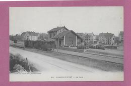 25,- CHARQUEMONT ,- La Gare - Otros Municipios
