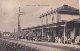 31 - St-Gaudens - La Gare Du Midi - Circulé En 1926 - Animée - Trains - TBE - Saint Gaudens