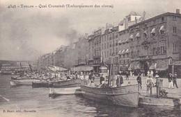 83 - Toulon - Quai Cronstadt - Embarquement Des Vivres - Circulé En 1909 - Belle Animation - TBE - Toulon
