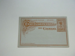 Stempel ( 732 )  Afstempeling  - Entier Postal  Postwaardestuk  Congo    Kongo - Postwaardestukken